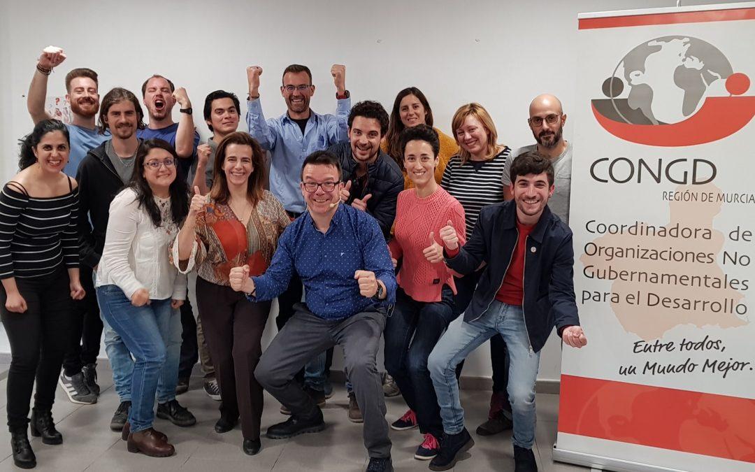 Taller «Las 5 claves al comunicar» en la coordinadora de ONGs de la región de Murcia